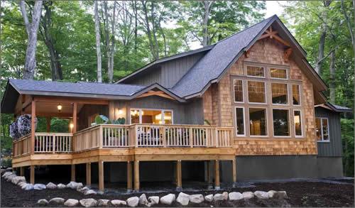 Cedar Homes Shorehaven Post Beam Homes Cedar Custom Homes