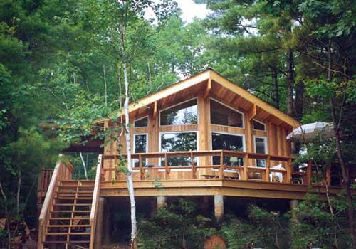 Custom Homes Ontario Post Beam Homes Cedar Homes