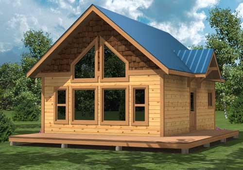 Custom homes grouse post beam homes cedar homes for Post and beam garage plans