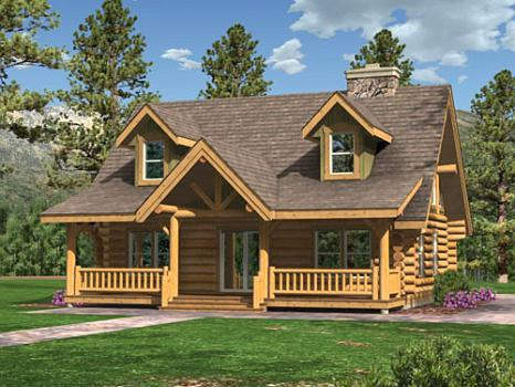 Cabin modular cabin homes info el real estate for Timber frame house kits for sale