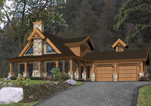 Timber Frame Riverstone Post Beam Homes Cedar Homes