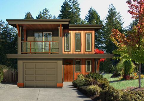 Laneway 3 Custom Cabins Garages | Post and Beam Homes | Cedar House ...