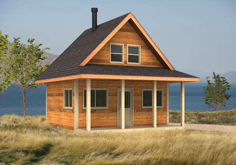 Puffin Custom Cabins Garages Post And Beam Homes Cedar