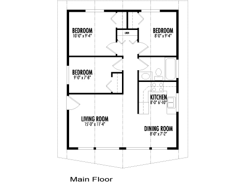 Post and beam construction floor plans unique house plans for Post frame building plans
