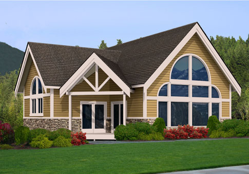 Chestnut post beam custom cabins garages post beam homes for Post and beam home plans free