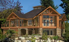 Post beam custom estate homes cedar homes plans post Custom estate home plans