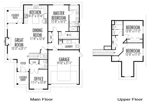 Anderson cedar homes floor plan