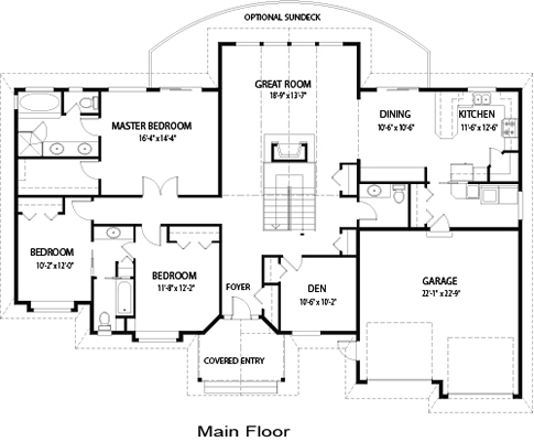 Lynden family custom homes post beam homes cedar homes for Post and beam floor plans