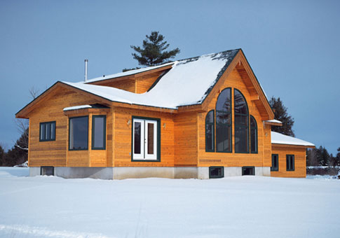 Clarendon family custom homes post beam homes cedar for Post and beam homes cost