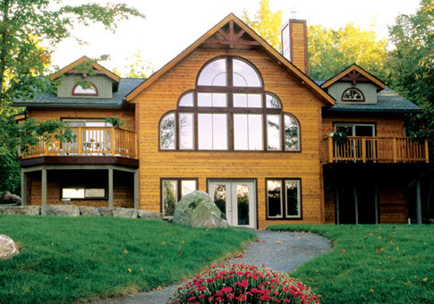 Empress family custom homes post beam homes cedar for Post and beam homes cost
