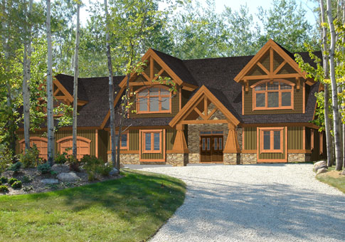 Hartley family custom homes post beam homes cedar for Maine post and beam kits