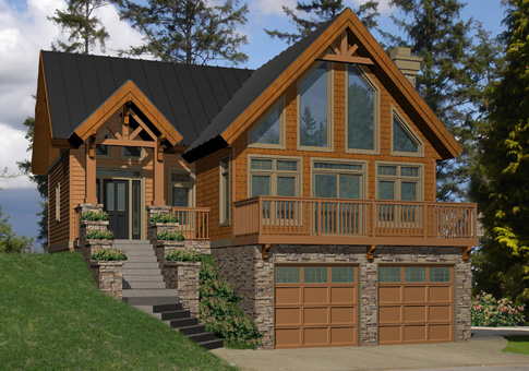 Lodgepole Family Custom Homes Post Beam Homes Cedar Homes Plans
