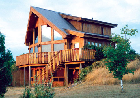 Matterhorn Family Custom Homes Post Beam Homes Cedar