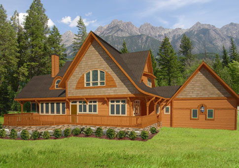 Mystic Family Custom Homes Post Beam Homes Cedar Homes Plans