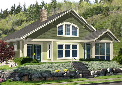 Barrett custom retreats cottages post and beam homes Custom cottage homes