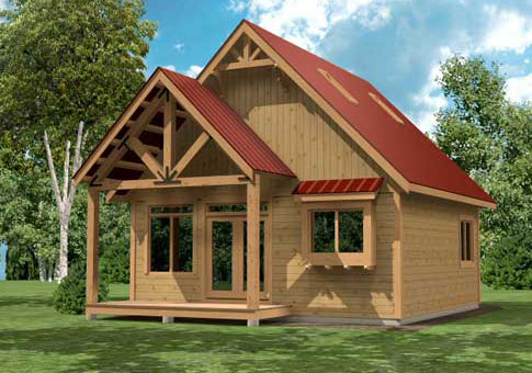 Cardinal Custom Retreats Cottages Post And Beam Homes
