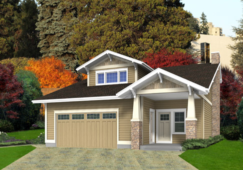 Stickly custom retreats cottages post and beam homes cedar house plans - Architecturally designed kit homes ...