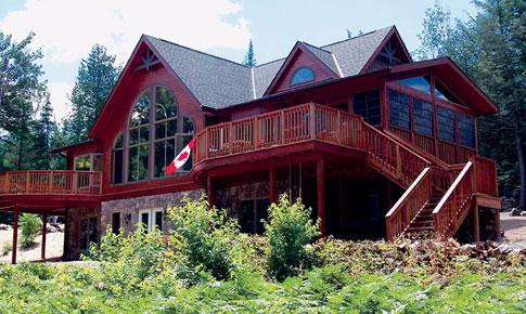 Cedarwood Custom Retreats Cottages Cedar Homes Cedar