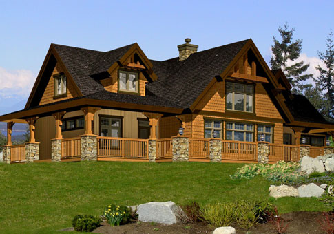 Glamorous cedar home designs ideas best inspiration home Custom cottage homes