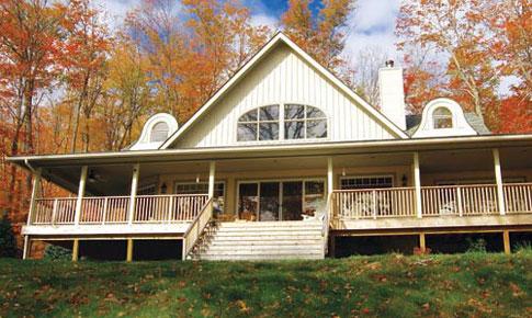 Cumbermere Custom Retreats Cottages Cedar Homes Cedar