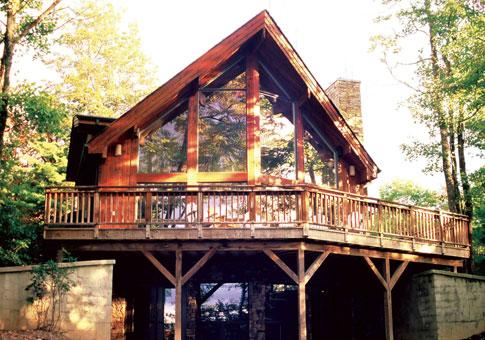 Sunburst Custom Retreats Cottages Cedar Homes Cedar
