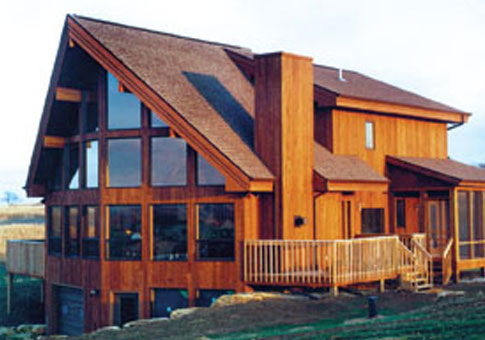 York post beam retreats cottages post beam homes cedar for House plans post and beam