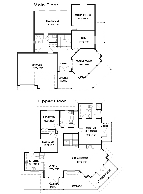 Longview post and beam joy studio design gallery best for Post and beam floor plans