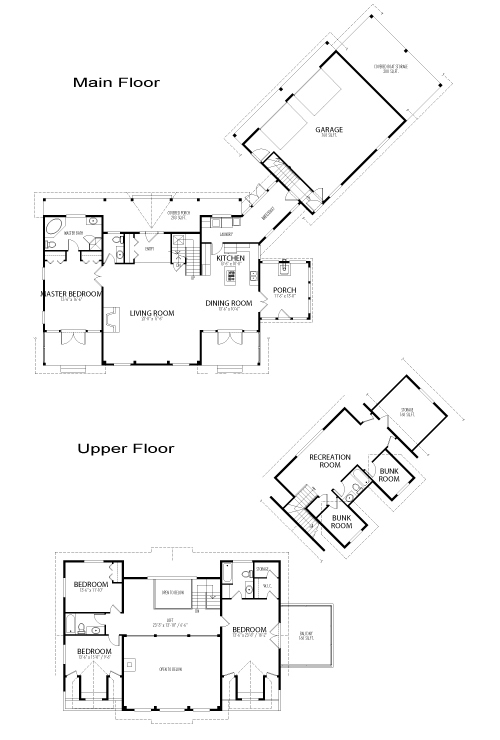 Timberlake custom estate homes post beam cedar homes for Post and beam floor plans