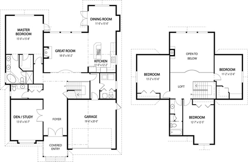 House Design Plans on Architectural House Floor Plans   House Design