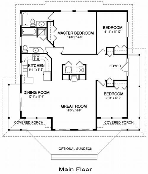 Architectural house plans unique house plans for Architectural design floor plans