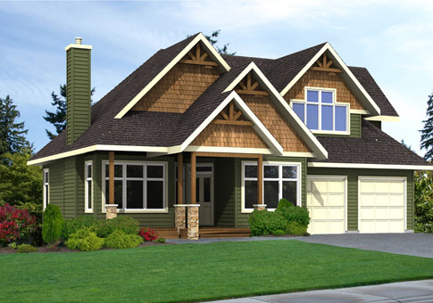 Ashwood custom post beam homes cedar homes for Post and beam house plans