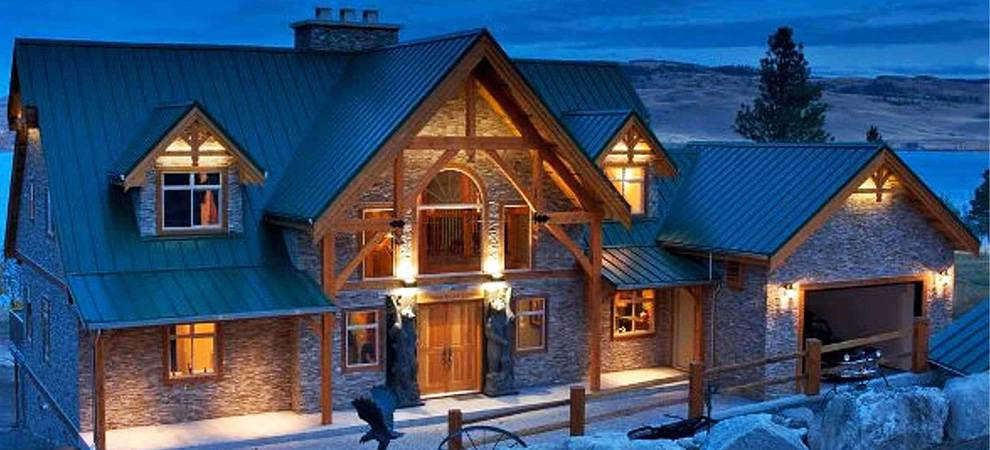 Cedar homes award winning custom homes post and beam for Luxury timber frame home plans