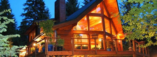 Blackcomb Post Beam Retreat Homes