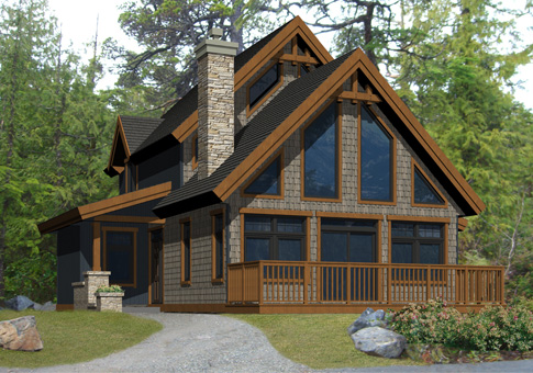 Eaton Family Custom Homes Post Beam Homes Cedar Homes Plans