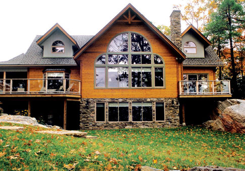 Redwood family custom homes post beam homes cedar for Post and beam homes cost